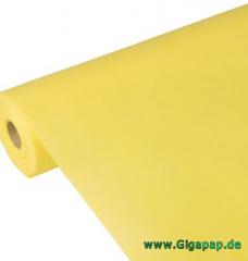 Tischdecke gelb 40m x 0,9m stoffähnlich, Vlies