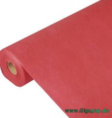 Tischdecke rot 40m x 0,9m stoffähnlich, Vlies