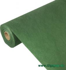 Tischdecke dunkelgrün 40m x 0,9m , stoffähnlich, Vlies