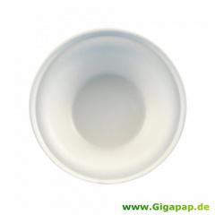 50 Schalen, Zuckerrohr -pure- 500 ml Ø 15,5 cm 5,4 cm weiss