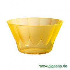 50 Eis- und Dessertbecher, PS rund 500 ml Ø 13 cm 7,5 cm orange -Royal-