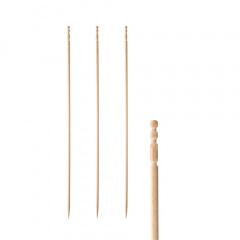 500 Fingerfood - Spieße -pure- 15 cm gedrechselt
