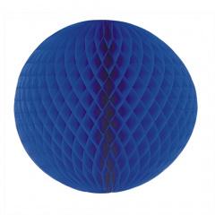 Wabenball Ø 60 cm blau schwer entflammbar