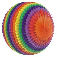 Streifenball Ø 70 cm -Rainbow- schwer entflammbar