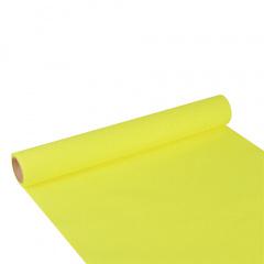 Tischläufer, Tissue -ROYAL Collection- 3 m x 40 cm limonengrün auf Rolle