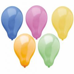 50 Luftballons Ø 25 cm -Trend- sortiert