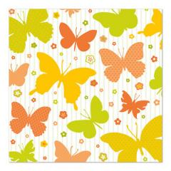 20 Servietten, 3-lagig 1/4-Falz 33 cm x 33 cm -Papilio-