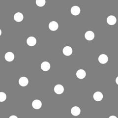 20 Servietten, 3-lagig 1/4-Falz 33 cm x 33 cm grau -Dots-