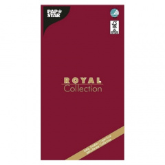 Tischdecke, Tissue -ROYAL Collection- 120 cm x 180 cm bordeaux
