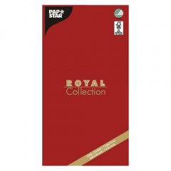 Tischdecke, Tissue -ROYAL Collection- 120 cm x 180 cm rot
