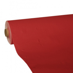 Tischdecke, Tissue -ROYAL Collection- 25 m x 1,18 m rot