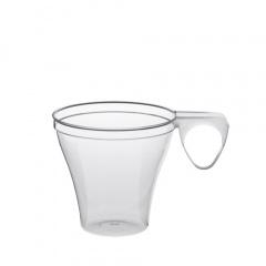 40 Espressotassen, PS 0,08 l Ø 6 cm 5,7 cm glasklar