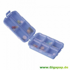 3 Tablettenboxen - 3 cm x 9 cm x 6,5 cm farbig sortiert