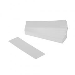 1000 Wurstanfasser, Pappe 10 cm x 3 cm weiss