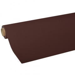 Tischdecke, Tissue -ROYAL Collection- 5 m x 1,18 m braun
