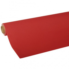 Tischdecke, Tissue -ROYAL Collection- 5 m x 1,18 m rot