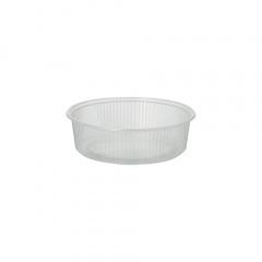 100 Verpackungsbecher, PP rund 125 ml Ø 10,1 cm 3,1 cm transparent