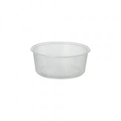100 Verpackungsbecher, PP rund 200 ml Ø 10,1 cm 4,3 cm transparent