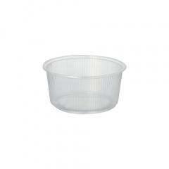 100 Verpackungsbecher, PP rund 250 ml Ø 10,1 cm 5 cm transparent