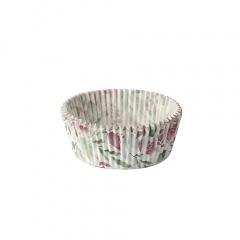 20 Backförmchen, American Cups Ø 5 cm 4 cm farbig sortiert -Spots-