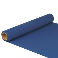Tischläufer, Tissue -ROYAL Collection- 5 m x 40 cm dunkelblau auf Rolle
