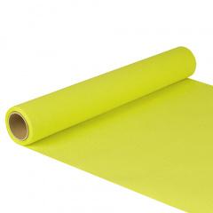 Tischläufer, Tissue -ROYAL Collection- 5 m x 40 cm limonengrün auf Rolle