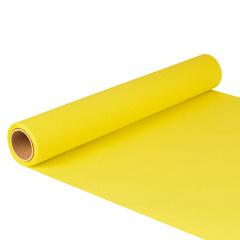 Tischläufer, Tissue -ROYAL Collection- 5 m x 40 cm gelb auf Rolle