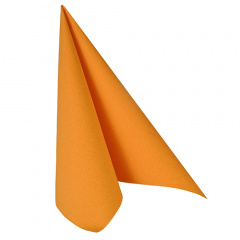 50 Servietten -ROYAL Collection- 1/4-Falz 40 cm x 40 cm orange