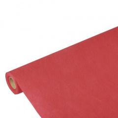 Tischdecke rot 10m x 1,18m stoffähnlich, Vlies