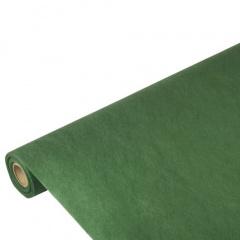 Tischdecke dunkelgrün 10m x 1,18m stoffähnlich, Vlies