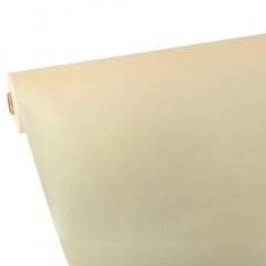 Tischdecke creme 25m x 1,18m stoffähnlich, Vlies