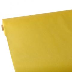 Tischdecke gelb 25m x 1,18m stoffähnlich, Vlies
