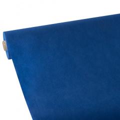 Tischdecke dunkelblau 25m x 1,18m stoffähnlich, Vlies