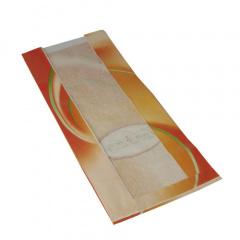 1000 Sichtstreifenbeutel 33 cm x 16 cm x 8,7 cm weiss Fresh & Tasty