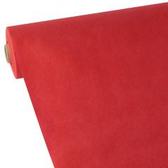 Tischdecke rot 40m x 1,18m stoffähnlich, Vlies