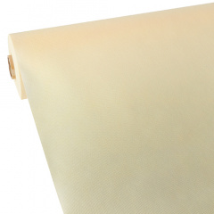 Tischdecke creme 40m x 1,18m stoffähnlich, Vlies
