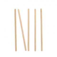 1000 Rührstäbchen, Holz pure 14 cm x 5 mm