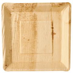 25 Teller, Palmblatt pure eckig 25 cm x 25 cm x 2,5 cm