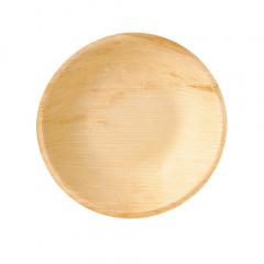 25 Schalen, Palmblatt pure rund 300 ml Ø 17,5 cm · 3,5 cm