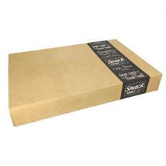 10 Transport- und Catering-Kartons pure eckig 8 cm x 37,6 cm x 55,7 cm Good Food groß