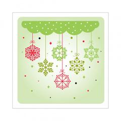 20 Servietten, 3-lagig 1/4-Falz 25 cm x 25 cm Christmas Decoration