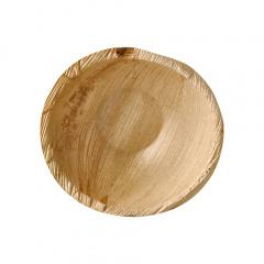 25 Schalen, Palmblatt pure rund 425 ml Ø 15 cm · 6,5 cm
