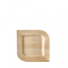 25 Teller, Palmblatt pure eckig 15 cm x 15 cm x 1,5 cm