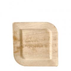 25 Teller, Palmblatt pure eckig 20 cm x 20 cm x 1,5 cm