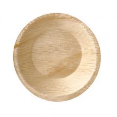 25 Schalen, Palmblatt pure rund 300 ml Ø 15 cm · 3 cm