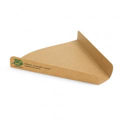 80 Pizza-Trays, Pappe pure 2,5 cm x 17,1 cm x 18,3 cm braun 100% Fair extra groß