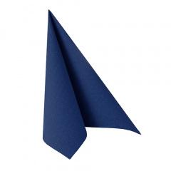 50 Servietten ROYAL Collection 1/4-Falz 33 cm x 33 cm dunkelblau