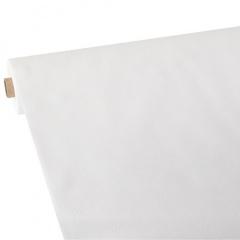 Tischdecke, stoffähnlich, Vlies soft selection plus 25 m x 1,18 m weiss