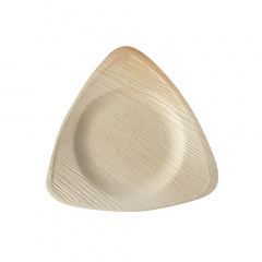 25 Teller, Palmblatt pure 3-eckig 20 cm x 20 cm x 2 cm