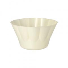 20 Eis- und Dessertschalen, C-PLA pure rund 400 ml Ø 12 cm · 7 cm natur
